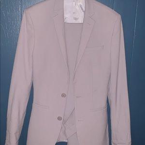 Two-piece Lavender Men's Suit